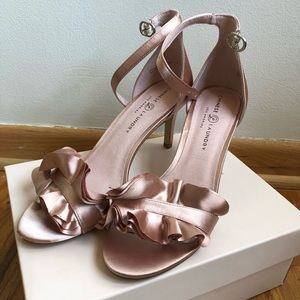 Chinese Laundry Remy Satin Nude Heels